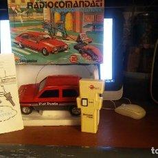 Juguetes antiguos Sanchís: FIAT PANDA RADIOCONTROL ANTIGUO. Lote 243196995