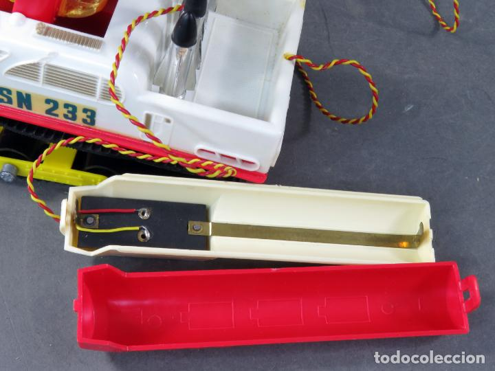 Juguetes antiguos Sanchís: Tanque Midi Sanchisquito Sanchis Ref 233 Serie Eléctrica cabledirigido caja años 70 Funciona - Foto 10 - 245240000
