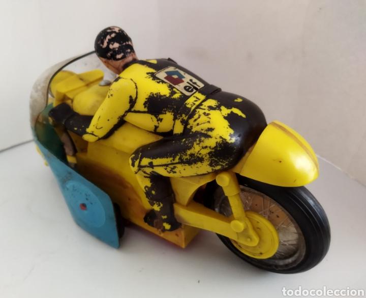Juguetes antiguos Sanchís: Moto de competición Sanchís .años 60 - Foto 2 - 245531070