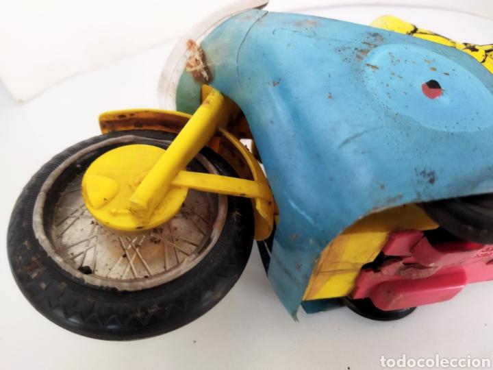Juguetes antiguos Sanchís: Moto de competición Sanchís .años 60 - Foto 7 - 245531070