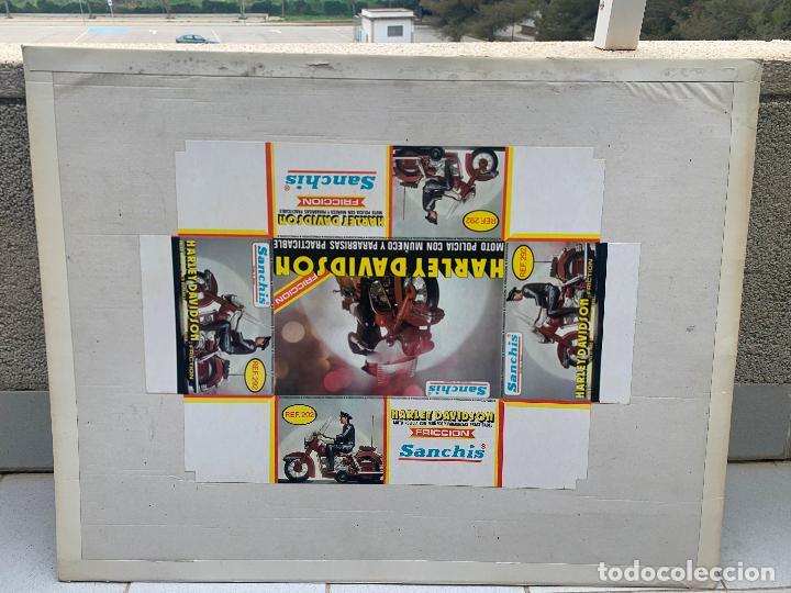 Juguetes antiguos Sanchís: SANCHIS HARLEY DAVIDSON RFA 292 FOTOLITOS PARA CAJA ORIGINAL - Foto 2 - 246083655