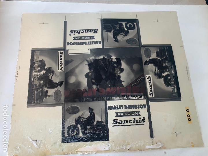 Juguetes antiguos Sanchís: SANCHIS HARLEY DAVIDSON RFA 292 FOTOLITOS PARA CAJA ORIGINAL - Foto 11 - 246083655