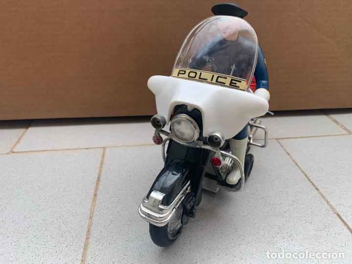 Juguetes antiguos Sanchís: SANCHIS MOTO HARLEY DAVIDSON A FRICCION - Foto 2 - 246087270