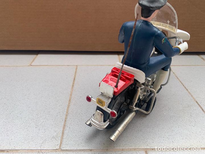 Juguetes antiguos Sanchís: SANCHIS MOTO HARLEY DAVIDSON A FRICCION - Foto 7 - 246087270