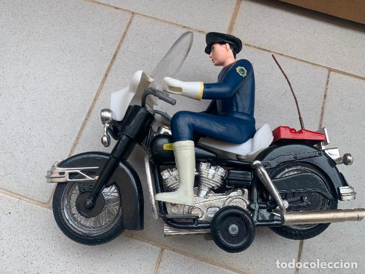 Juguetes antiguos Sanchís: SANCHIS MOTO HARLEY DAVIDSON A FRICCION - Foto 8 - 246087270