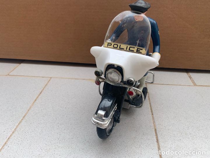 Juguetes antiguos Sanchís: SANCHIS MOTO HARLEY DAVIDSON A FRICCION - Foto 12 - 246087270