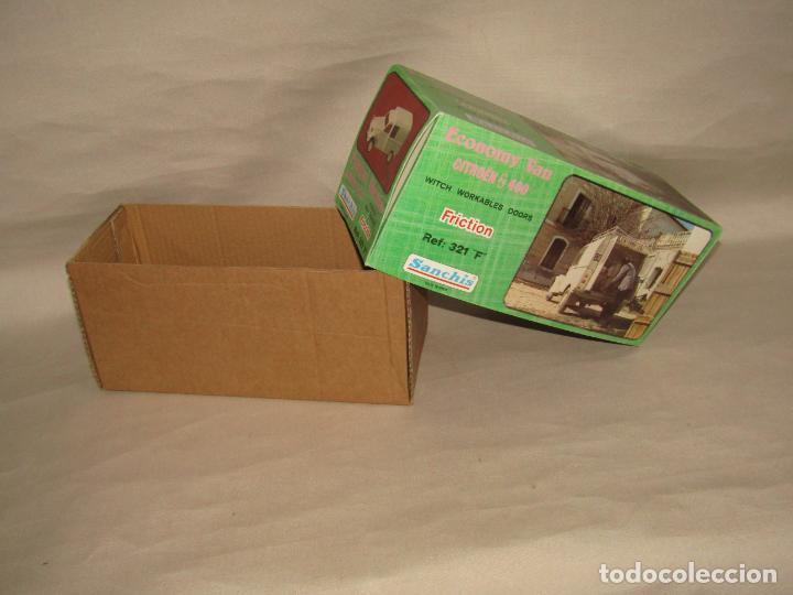 Juguetes antiguos Sanchís: Antigua Caja Vacía de la Furgoneta a Fricción CITROËN AK 400 Ref. 321 F de Juguetes SANCHÍS - Foto 5 - 246315125