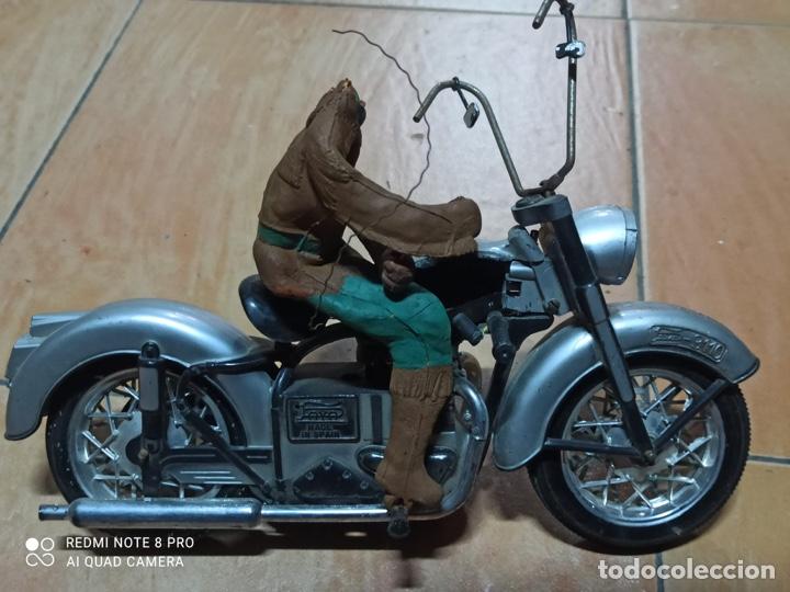 Juguetes antiguos Sanchís: Sanchis citroen y moto Paya, rico, jyesa, juguete antiguo - Foto 5 - 253123325