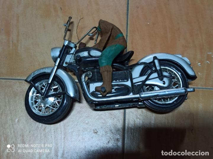 Juguetes antiguos Sanchís: Sanchis citroen y moto Paya, rico, jyesa, juguete antiguo - Foto 6 - 253123325