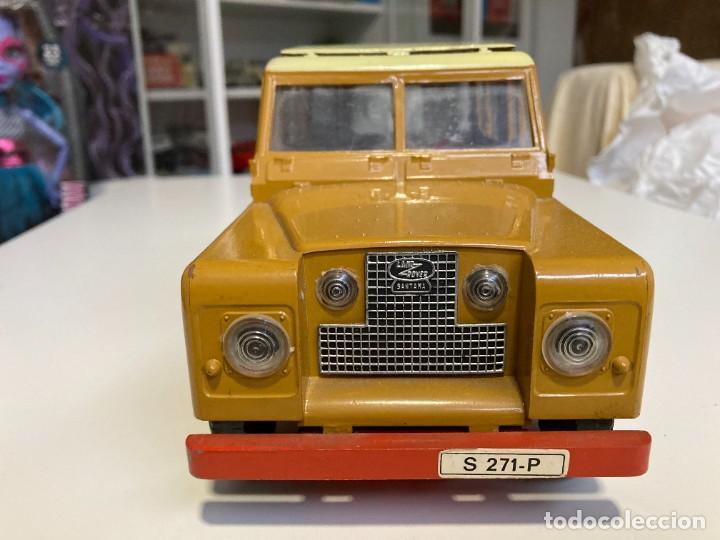 Juguetes antiguos Sanchís: Land Rover Sanchis, no Paya, jyesa, rico, shucco, joustra, gama. Juguete antiguo, coche juguete - Foto 2 - 254472305