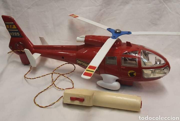 Juguetes antiguos Sanchís: Helicóptero aeroespacial de Sanchis - Foto 3 - 254690925