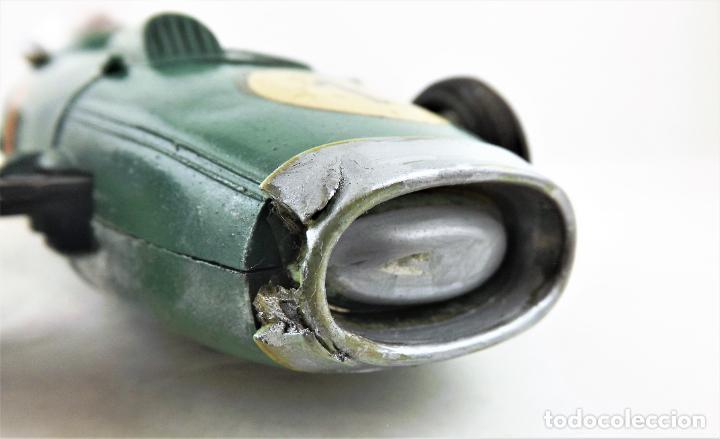 Juguetes antiguos Sanchís: Sanchis. Bolido nº 1 años 60 Color verde - Foto 12 - 261939970