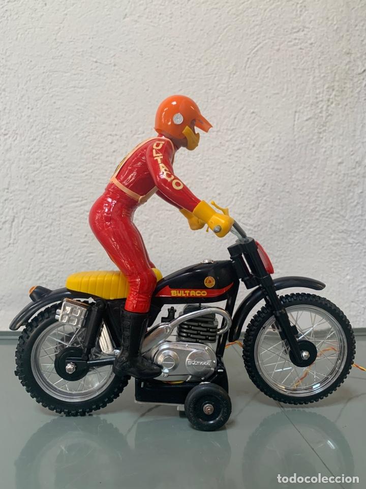 Juguetes antiguos Sanchís: Bultaco Trial Dirigida Sanchís - Foto 2 - 262217450