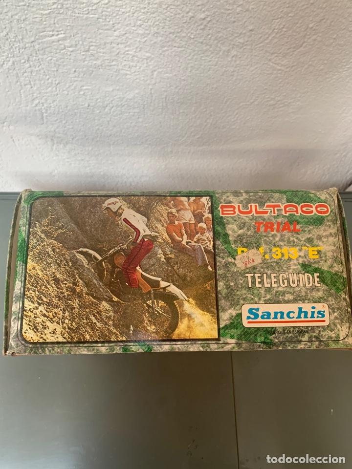 Juguetes antiguos Sanchís: Bultaco Trial Dirigida Sanchís - Foto 8 - 262217450