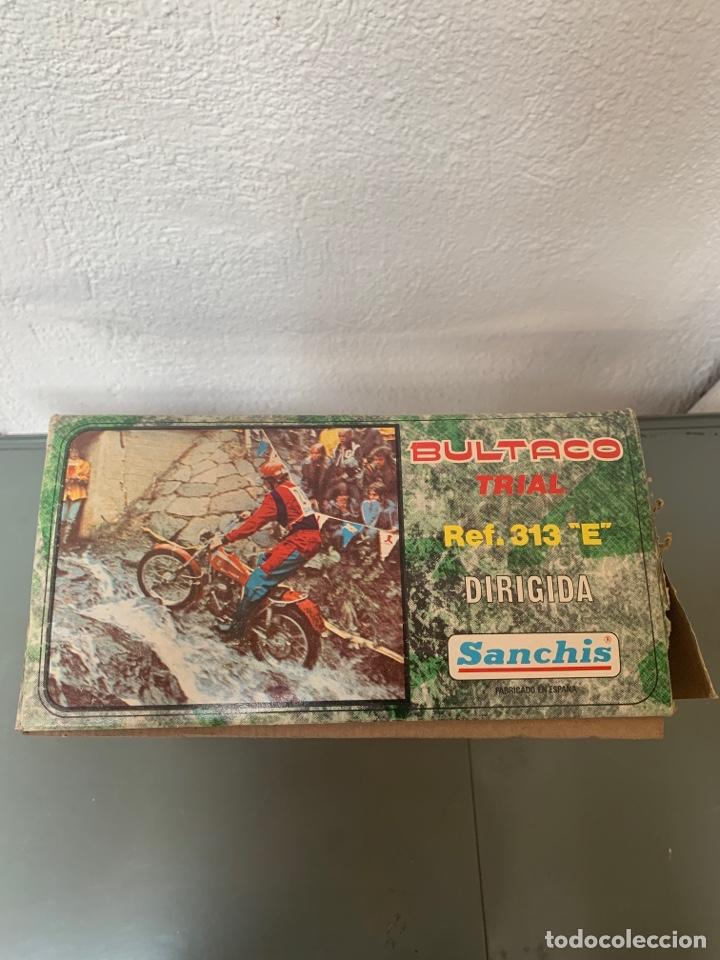 Juguetes antiguos Sanchís: Bultaco Trial Dirigida Sanchís - Foto 9 - 262217450