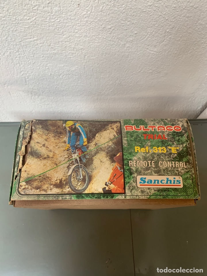 Juguetes antiguos Sanchís: Bultaco Trial Dirigida Sanchís - Foto 10 - 262217450