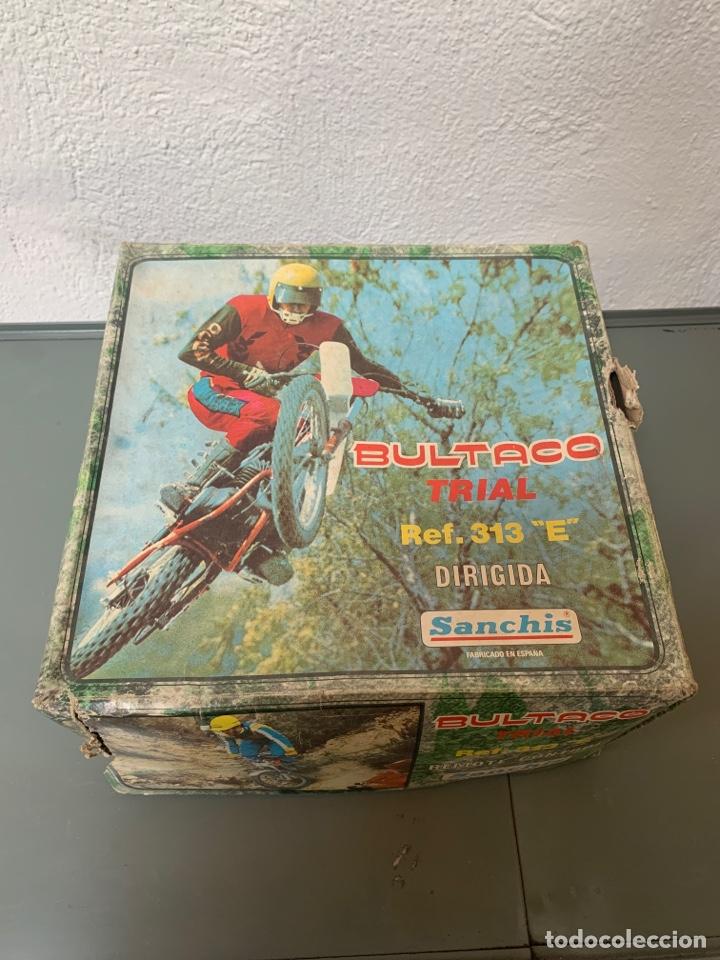 Juguetes antiguos Sanchís: Bultaco Trial Dirigida Sanchís - Foto 12 - 262217450