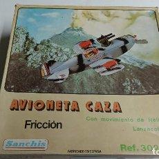 Juguetes antiguos Sanchís: AVIONETA CAZA DE SANCHÍS. Lote 267859999