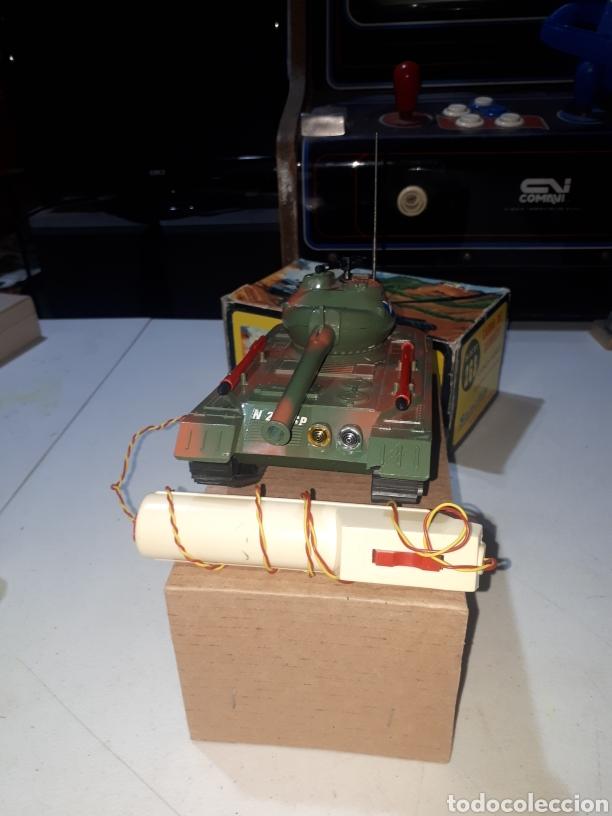 Juguetes antiguos Sanchís: Carro combate Lanza Misiles Sanchis REF 268 muy buen estado leer descripción - Foto 2 - 269458768