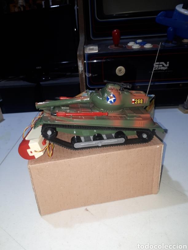 Juguetes antiguos Sanchís: Carro combate Lanza Misiles Sanchis REF 268 muy buen estado leer descripción - Foto 3 - 269458768