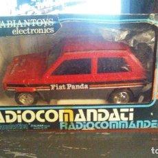 Juguetes antiguos Sanchís: FIAT PANDA RADIOCONTROL ANTIGUO. Lote 271533998