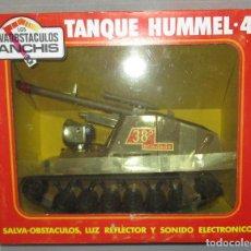 Juguetes antiguos Sanchís: TANQUE HUMMEL-417 SALVAOBSTACULOS DE SANCHIS ,VEHÍCULO MILITAR, NUEVO CON CAJA. Lote 275879633