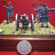 Juguetes Antiguos: FIGURAS DE PLOMO - ÉPOCA NAPOLEÓNICA - ESCALA 40 MIL. SEMI-BULTO -. Lote 27108863