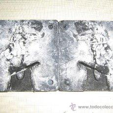 Juguetes Antiguos: MOLDE PARA SOLDADITOS DE PLOMO DE 9 X 9 CM. DE SILICONA . Lote 27558818