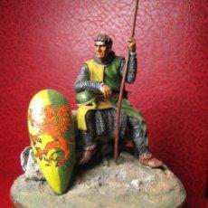 Juguetes Antiguos: SOLDADO DE PLOMO - CABALLERO NORMANDO - AÑO 1180 - ESCALA 54 MM - VER FOTOGRAFIAS. Lote 27421165
