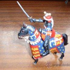 Juguetes Antiguos: CABALLERO SOLDADO DE PLOMO EL CABALLERO NEGRO . Lote 16417036