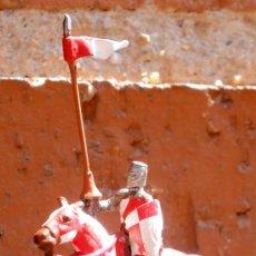 Juguetes Antiguos: CABALLERO MEDIEVAL LILIPUT - SOLDADO DE PLOMO DEL PRADO - CLC. Lote 168941965