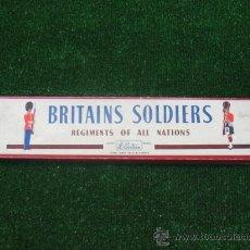 Juguetes Antiguos: BRITAINS SOLDIERS SOLDADOS DE PLOMO Nº459993 ( OCHO SOLDADITOS DE PLOMO). Lote 23954563