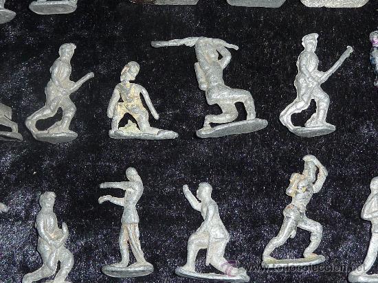Juguetes Antiguos: Lote de 54 soldados de plomo antiguos. De pp s.XX. - Foto 6 - 26756506