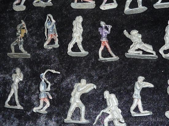 Juguetes Antiguos: Lote de 54 soldados de plomo antiguos. De pp s.XX. - Foto 7 - 26756506