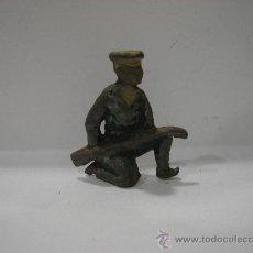 Juguetes Antiguos: SOLDADO DE PLOMO. ANTIGUO.. Lote 23135908