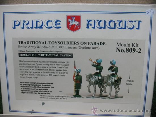 PRINCE AUGUST - KIT DE MOLDES PARA FIGURAS DE PLOMO.NO.809-2 (Juguetes - Soldaditos - Soldaditos de plomo)