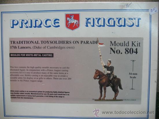 PRINCE AUGUST - KIT DE MOLDES PARA FIGURAS DE PLOMO.NO.804 (Juguetes - Soldaditos - Soldaditos de plomo)