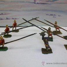 Juguetes Antiguos: FIGURAS PLOMO ROMANOS - GRIEGOS . Lote 25916187