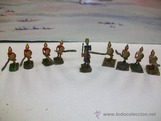 Juguetes Antiguos: FIGURAS PLOMO ROMANOS - GRIEGOS - Foto 2 - 25916187
