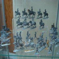 Juguetes Antiguos: PRECIOSA COLECCIÓN DE SOLDADOS DE PLOMO SIGLO XIX 1850. Lote 24594450