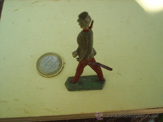 Juguetes Antiguos: antiguo soldadito de plomo , militar desfilando - Foto 3 - 26389960