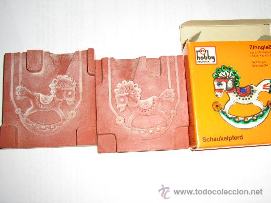 MOLDE PARA HACER FIGURA DE PLOMO (Juguetes - Soldaditos - Soldaditos de plomo)