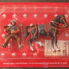 Juguetes Antiguos: CABALLERO EDAD MEDIA (ALTAYA/FRONTLINE - 1/32 - 54 MM.). Lote 27835246