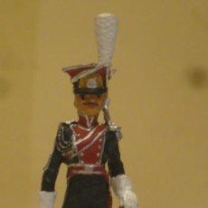 Juguetes Antiguos: SOLDADITO DE PLOMO. MARCA ALMIRALL PALOU. LANCERO POLACO. REF. 015. 73 MM. 58 GR. NAPOLEÓN. . Lote 29732155