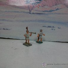 Juguetes Antiguos: FIGURAS ROMANO PLOMO - FIGURA METAL 30 / 35 MM. - PLOMBY . Lote 31622820