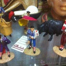 Juguetes Antiguos: FIGURAS PLOMO TOREROS. Lote 58660195