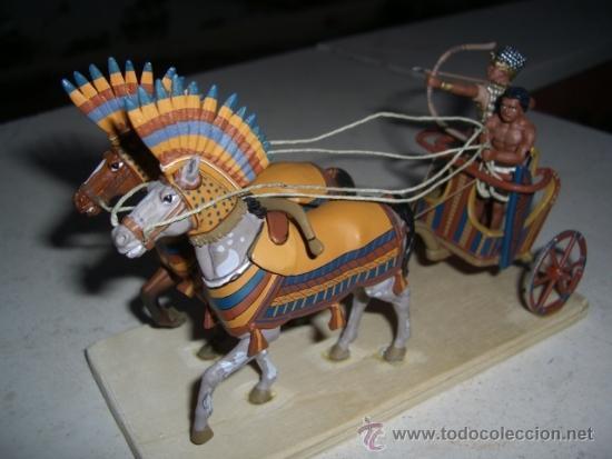 CARRO EGIPCIO DE PLOMO A ESTRENAR (Juguetes - Soldaditos - Soldaditos de plomo)