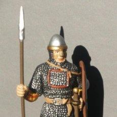 Juguetes Antiguos: HOMBRE DE ARMAS NORMANDO - MEDIEVALES ALTAYA - CLC. Lote 213664920