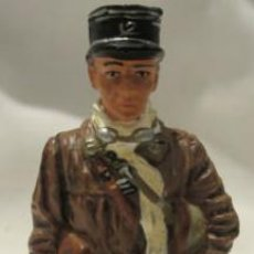 Juguetes Antiguos: LOTE SOLDADO DE PLOMO - OFICIAL DE TANKES - FRANCIA 1940 - WWII ALIADOS. Lote 35457195