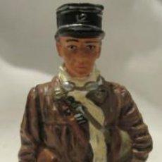Juguetes Antiguos: LOTE SOLDADO DE PLOMO - OFICIAL DE TANKES - FRANCIA 1940 - WWII ALIADOS. Lote 179117638